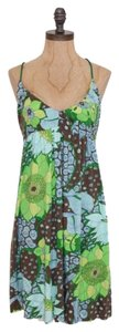 Free People short dress MULTI COLOR Lyocell Floral on Tradesy