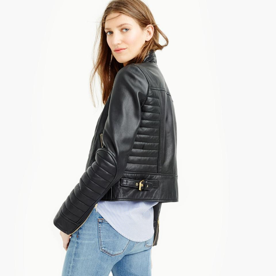 0a837cec3 J.Crew Black Collection Standing-collar Item B9871 Jacket Size 4 (S) 47%  off retail