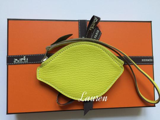 Hermès Brand new Tutti Frutti LEMON Coin purse bag charm