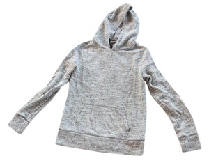 Gap Hoodie Elbow Patch Button Sweater