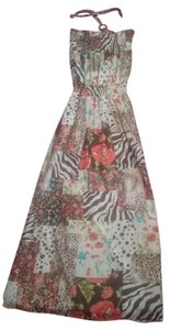 Maxi Dress by Grass Collection Maxi Floral Print Flowy