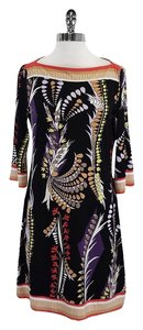 Ali Ro short dress Multi Color Boatneck on Tradesy