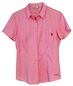 Pringle of Scotland Button Down Shirt pink