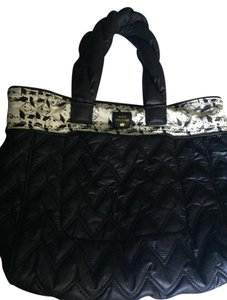 Juicy Couture Reversible Tote in Black/White