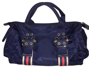 Franco Sarto Satchel in Navy Blue