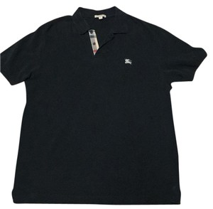 Burberry Brit Burberry Polo T Shirt Black