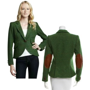 Smythe Fitted Green Blazer