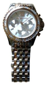 Michael Kors MK TRILOGY EVEREST CHRONOGRAPH GLITZ ANALOG WATCH