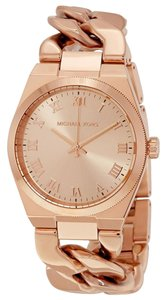 Michael Kors Michael Kors Women's Rose Gold-Tone Channing Watch MK3414