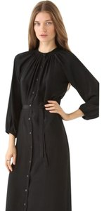 Tucker Formal Long Sleeve Shirt Silk Dress