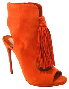 Christian Louboutin Otoka Tassel orange Boots