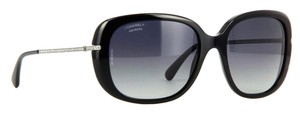 Chanel 5292 B Pantos Bijou Black Silver CC Logo Crystal Strass Polarized
