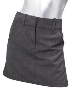Alexander McQueen Mini Skirt Gray