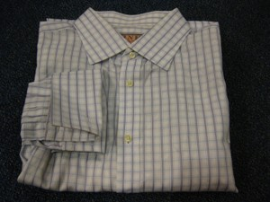 Thomas Pink Thomas Pink French Cuff 100% Cotton L/s Dress Shirt Sz 17.5/37