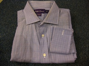 Ralph Lauren Ralph Lauren Purple Label French Cuff L/s Dress Shirt Sz 16/32-33