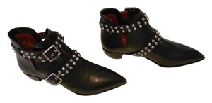 Marc by Marc Jacobs Western Flavor Studded Straps Black Boots