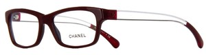 Chanel Crystal Dream 3274 Eyeglasses Glasses Red Clear Lucite CC Square