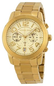 Michael Kors Michael Kors Women's Mercer Gold Tone Bracelet Watch MK5726