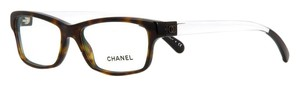 Chanel Crystal Dream 3274 Eyeglasses Glasses Brown Tortoise Clear Lucite CC