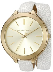 Michael Kors Mcheal Kors Women's Slim Runway White Watch MK2477