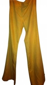 Catherine Malandrino Wide Leg Pants Golden yellow