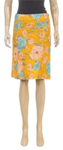 Miu Miu Skirt Orange/Blue/Pink