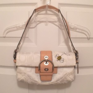 Coach Bumble Bee Leather Shoulder Bag