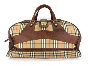 Burberry Novacheck Travel Bag