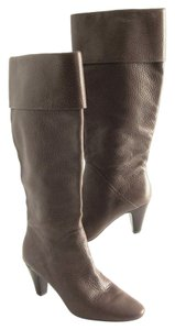 Tahari Leather Knee High Brown Boots