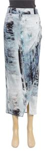 Helmut Lang Skirt Blue/Multicolor