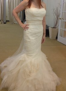 Vera Wang Custom Vera Wang Gown Wedding Dress