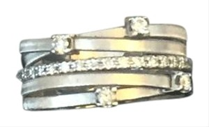 Marco Bicego Marco Bicego Goa 5 Row Diamond Set Ring