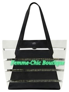 Vince Camuto Tote in Black/ White