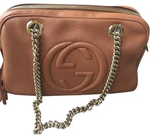 Gucci Soho Satchel in Brown