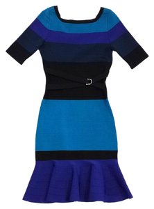 Karen Millen short dress Color Block Bodycon on Tradesy