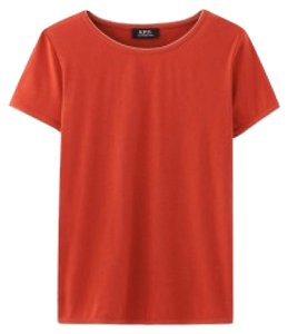 A.P.C. T Shirt Red