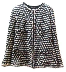 Chanel Plus-size Black Multicolor Jacket
