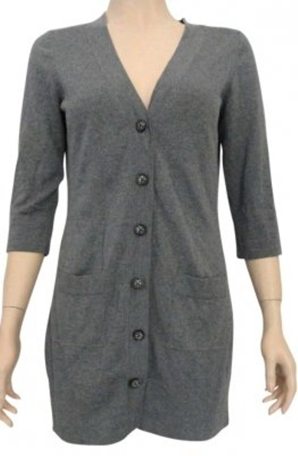 Preload https://img-static.tradesy.com/item/187336/banana-republic-gray-small-silk-blend-long-cardigan-button-up-sweaterpullover-size-6-s-0-0-650-650.jpg