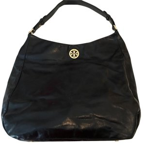 Tory Burch black leather purse Hobo Bag