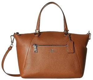 Coach Hobo 36311 Satchel in Saddle