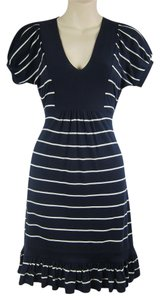 Juicy Couture short dress Blue, white Nautical Stripe Striped on Tradesy