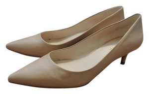 Nine West Kitten Classic Pointed Nude Pumps