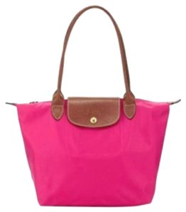 Longchamp Tote in Hot Pink