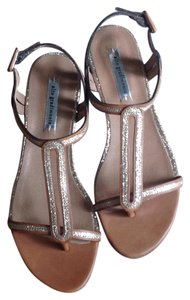 Alto Gradimento Leather, nude, beige, gold, spark Sandals