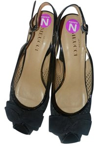 Sesto Meucci Black Wedges