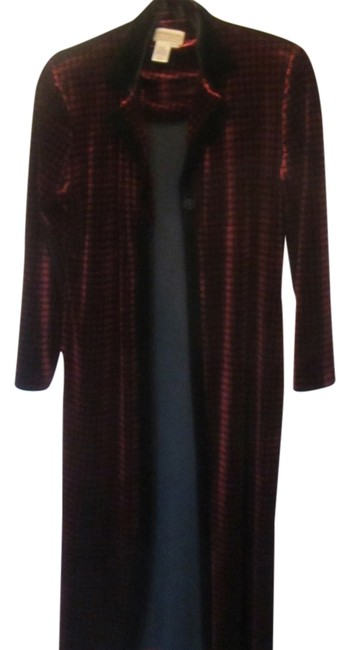 Preload https://img-static.tradesy.com/item/1873525/coldwater-creek-red-with-black-print-none-pea-coat-size-petite-2-xs-0-0-650-650.jpg