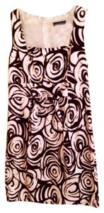Jessica Howard short dress Brown & White Pattern on Tradesy