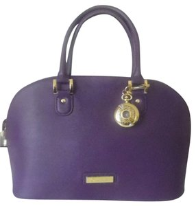 Joy & IMAN Satchel in Purple
