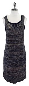 Marc by Marc Jacobs short dress Navy Beige Knit Layered on Tradesy