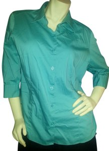 George Button Down Stretch Comfort Button Down Shirt green